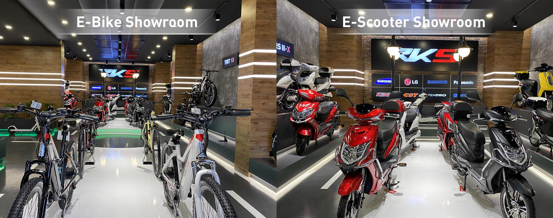 E-Bike / E-Scooter Showroom